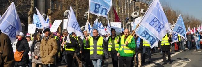 Demonstration in Düsseldorf 2015