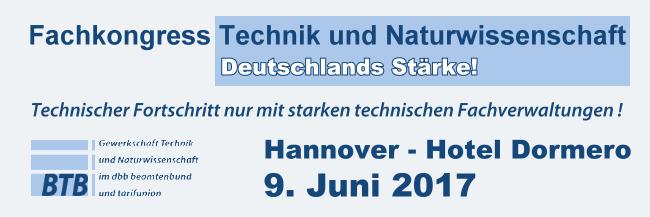 Fachkongress 9. Juni - Hannover - Fachkongress Technik und Naturwissenschaft